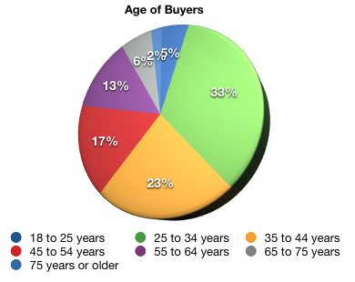 2008 nar buyer profile pie chart